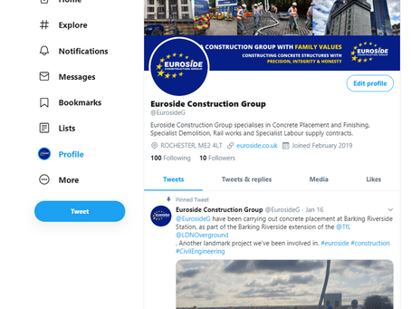 Our Twitter & LinkedIn Re-launched