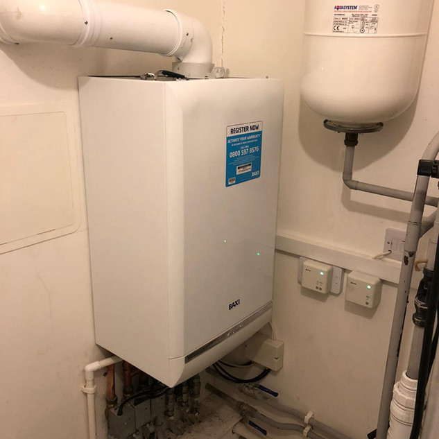 Baxi Boiler Installation, Dartford