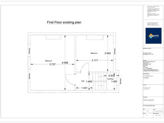 First Floor Existing Plan - 200216 - FFE