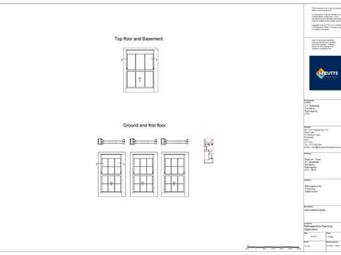 Sash Window details - SC202022 - SWD01-p