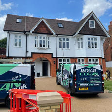 Royal Clean | Builders Clean London & Essex have completed the sparkle clean for London Projects Ltd to successfully handover 11 Montpelier Avenue, W5.