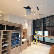 Royal Clean | Builders Clean London & Essex have completed the #buildersclean for the Ground Floor Café at #22bishopsgate for  Bluecrow Projects Ltd.