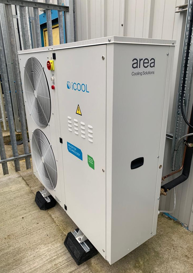 Installation - iCool condenser unit