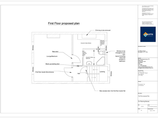 First Floor Proposed Plan - 200216 - FFP