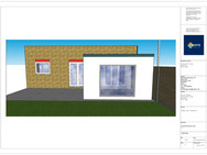 Proposed Elevation View A - AW202012 - E