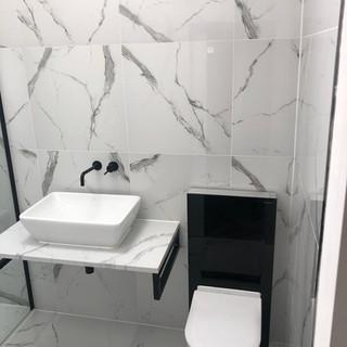 Toilet sanitaryware installation, Dartford