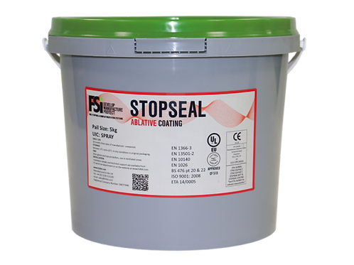Stopseal Ablative Spray Grade Coating 5kg Pail