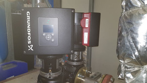 Upgrading high efficiency pumps at NOVOTEL Edinburgh