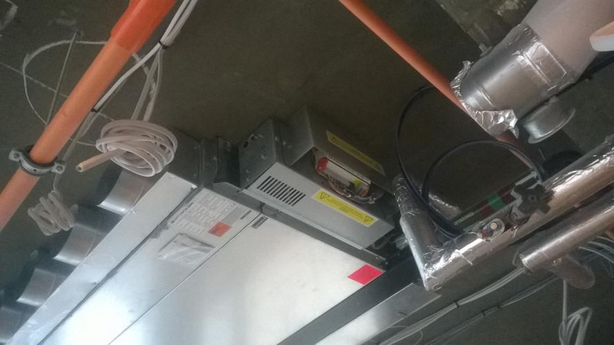 MVHR 2nd fix installation