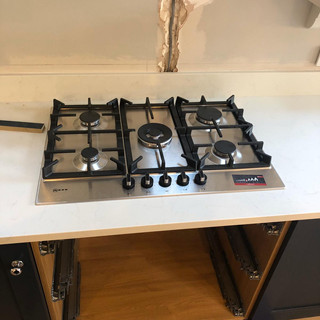 Gas hob installation, Blackheath