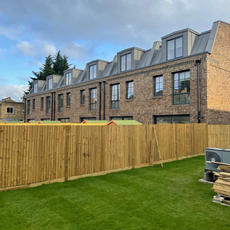 10 new build family-sixed council houses Welsford St, SE1. The scheme – being built on land previously occupied by garages