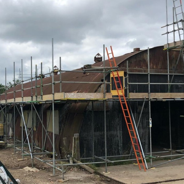 Industrial - Roof Scaffolding