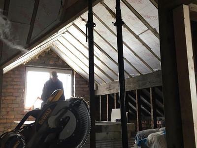 During Build Loft Conversion