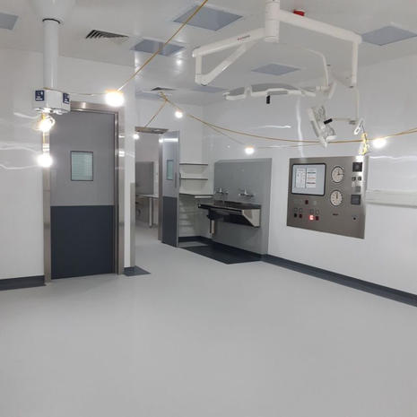 Another project completed on behalf of Marcon Construction | Ltd at St. Thomas Hospital