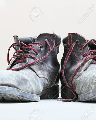22607640-pair-of-old-dirty-work-boots-in
