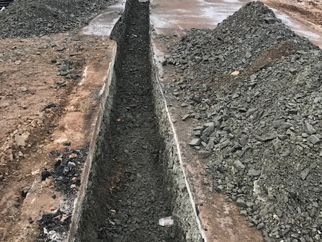 Concrete Footings Excavation