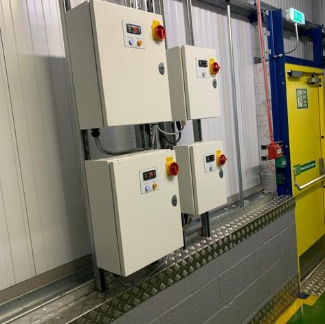 Installation - control panel