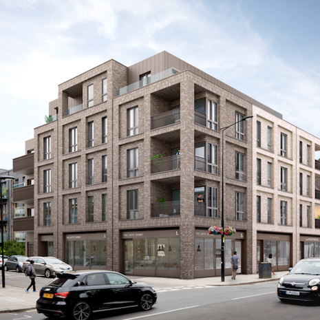 One of our teams completed the #showflat at 413-419 Harrow Road on behalf of Brennan Limited