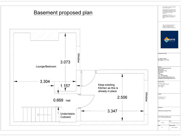 Basement Proposed Plan - 200216 - BMPP01