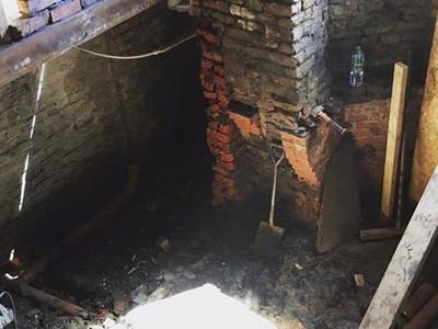 During Build Cellar Conversion
