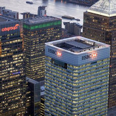 We've been working in London's Iconic HSBC Tower #CanadaSquare - Royal Clean | Builders Clean London & Essex have just completed the #buildersclean for 27 no. toilets over 9 floors.