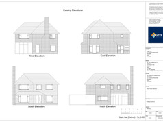 210028_ARC_200_01 - Existing Elevations_