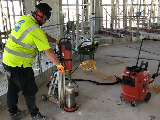 New HILTI water recycling unit