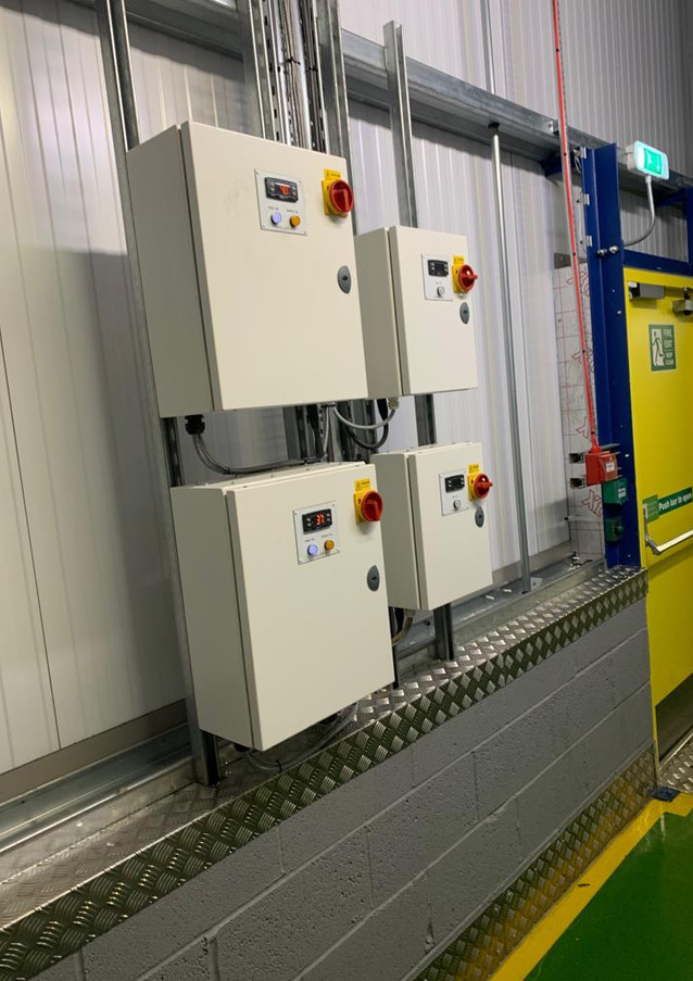 Installation - Control panels for Danfoss coldstores