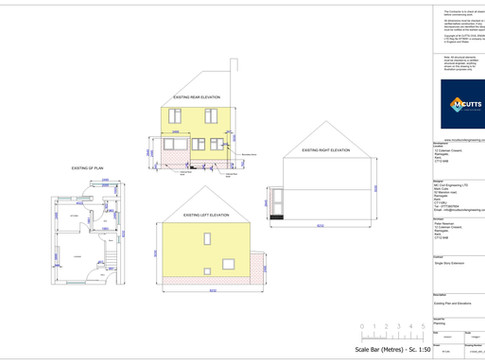 210049 - ARC-200-01 - Existing Plan and