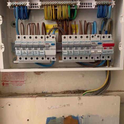 Installation - Consumer unit upgrade