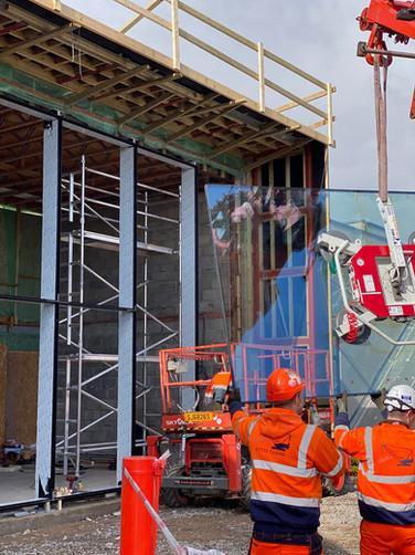 Glass Lifting Hire & Transport