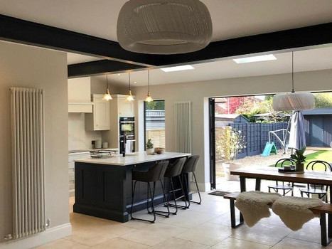 Completed Extension Interior
