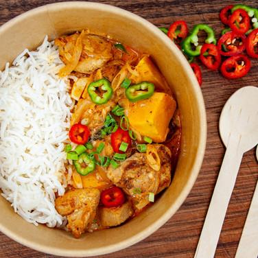 Thai Red Curry Bowl