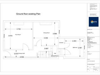 Ground Floor Existing Plan - 200216 - GF