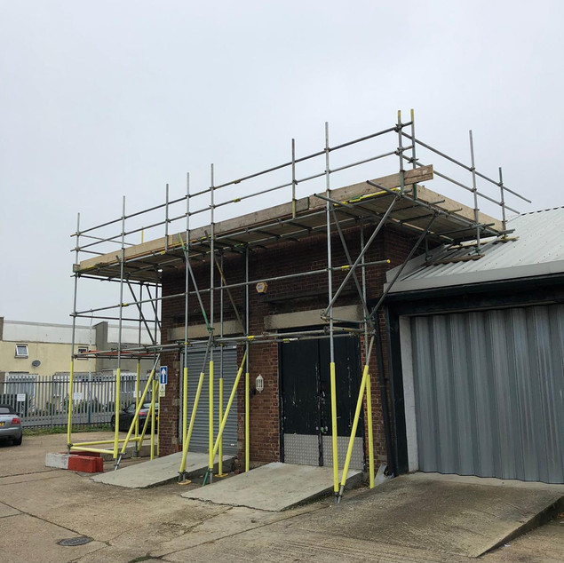 Industrial - Roofing Scaffold