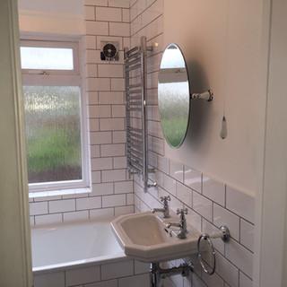 Toilet sanitaryware installation, Bromley