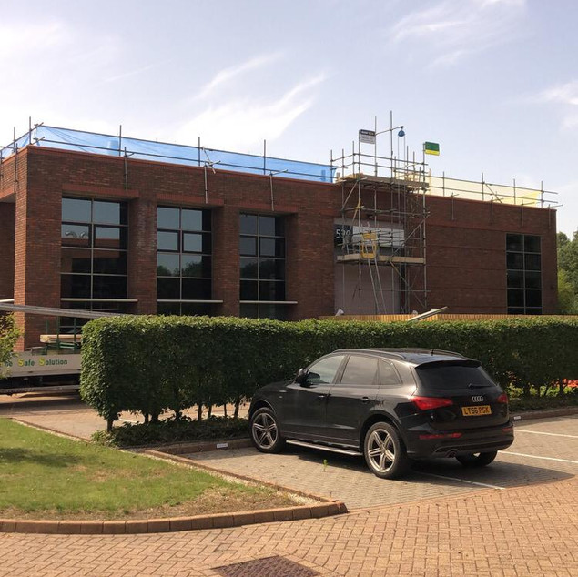 Commercial - Roof Edge Protection