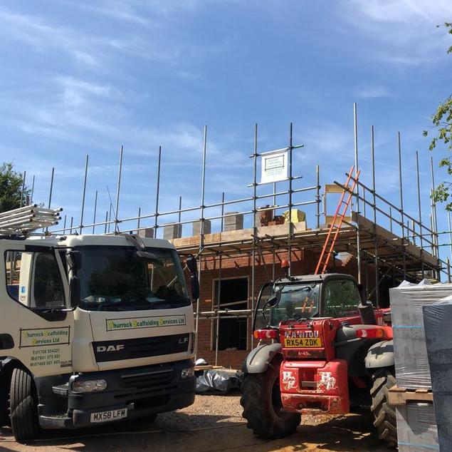 New Build - Elevation Scaffolding