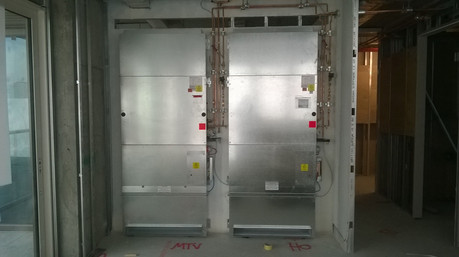 Heat Interface Units (HIU) ductwork