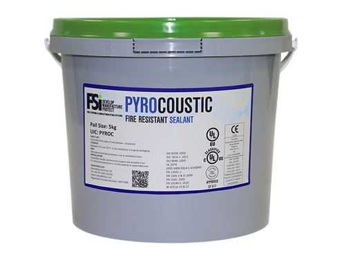 Pyrocoustic Trowel Grade Coating 5kg Pail