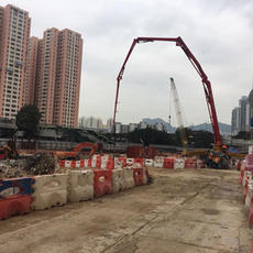 first pour on East Kowloon cultural cent
