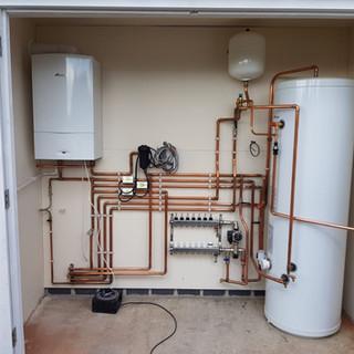 Boiler & Tank installation, Orpington