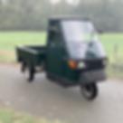 Piaggio Ape 50 pick up verde sherwood 32