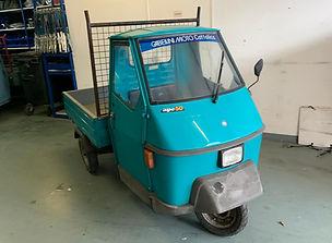 Piaggio Ape 50 TL6T Blue Blauw Blu Blau