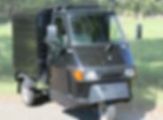 Piaggio Ape 50 Ape50 cc Tuktuk Zwart Van