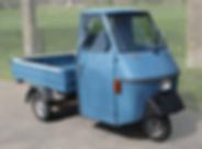 Piaggio Ape 50 P50 TM Tuktuk Blauw Cuijk