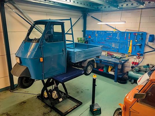 Molto Bene Cuijk Onderhoud Service Reparaties Piaggio Ape 50 Garage Onderdelen Verkoop Inkoop