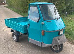 Piaggio Ape 50 TL6T Blauw Groen 1993 (11