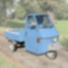 Piaggio Ape blauw P50 pick up Blu 50 TM