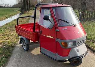 Piaggio Ape 50 TL5T Cross Country red Ro